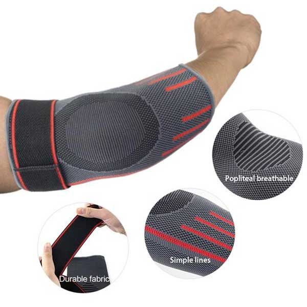 2 Pc Elbow Compression Support Sleeves (1 pair) - Blown Biker - 3