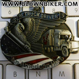 Truck Driver - An American Hero Pendant Necklace - Blown Biker - 5