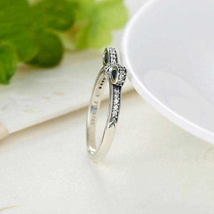 "925 Sterling Silver ""Bow Knot"" Womens Ring - Blown Biker - 4"