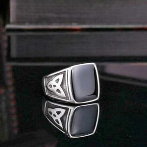"316L Stainless Steel ""Egyptian"" Ring - Blown Biker - 3"