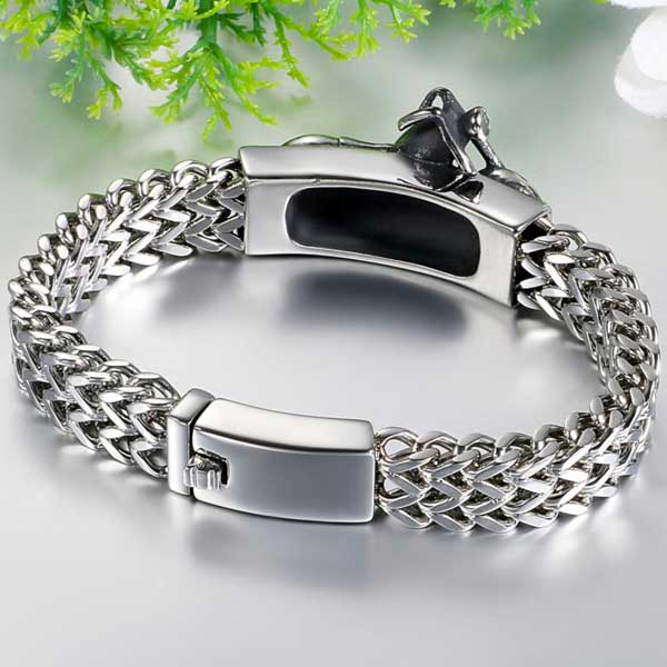 "316L Stainless Steel ""Biker"" Bracelet - Blown Biker - 2"