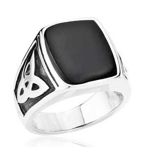 "316L Stainless Steel ""Egyptian"" Ring - Blown Biker - 4"