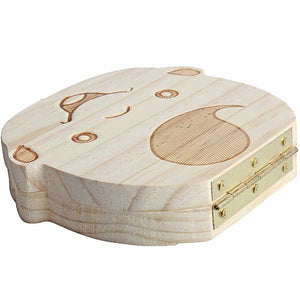 "Wooden ""Baby Tooth"" Storage Box - Blown Biker - 4"