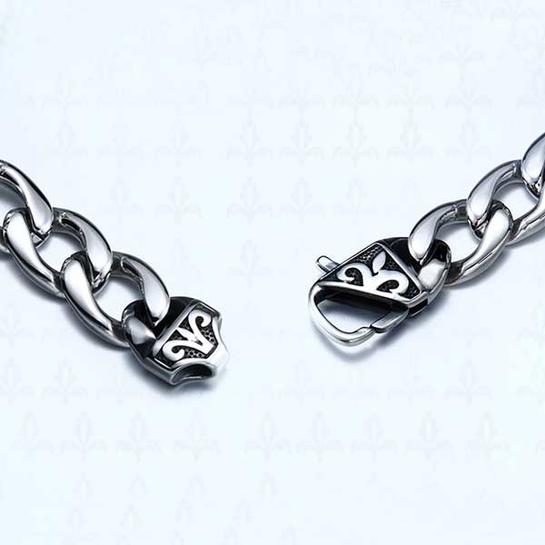 "316L Stainless Steel ""Nordic Viking"" Bracelet - Blown Biker - 3"