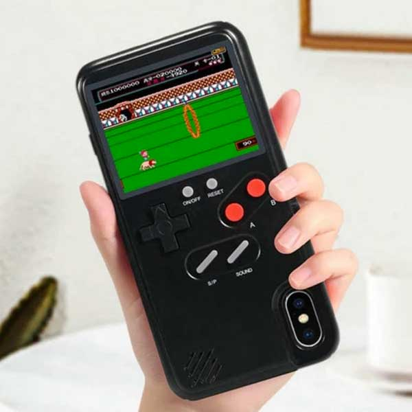 "Retro ""Game System"" iPhone Case With 36 Playable Video Games - Blown Biker - 2"