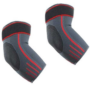 2 Pc Elbow Compression Support Sleeves (1 pair) - Blown Biker - 6