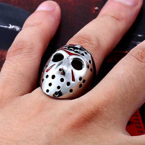 "316L Stainless Steel ""Friday The 13th"" Ring"
