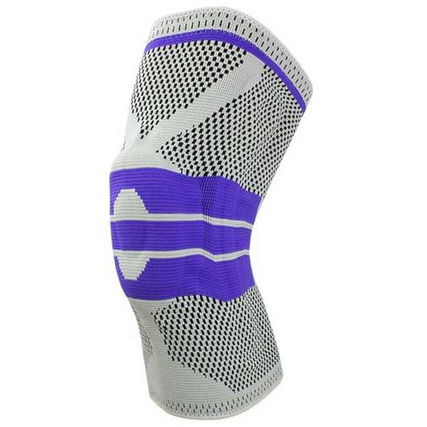 Silicone Compression Knee Support Sleeve - Blown Biker - 9