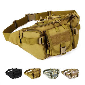 "Multi Function ""Tactical"" Fanny Pack - Blown Biker - 01"