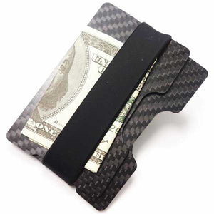 "Ultralight Carbon Fiber ""Minimalist"" Wallet w/ RFID Blocking - Blown Biker - 1"