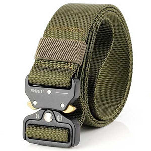 "Military Grade ""Tactical"" Mesh Belt - Blown Biker - 6"