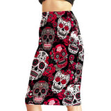 "3D Printed ""Evil Skull"" Hip Skirt - Blown Biker - 1"