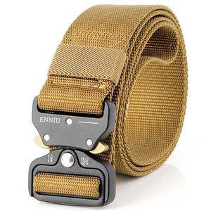 "Military Grade ""Tactical"" Mesh Belt - Blown Biker - 1"