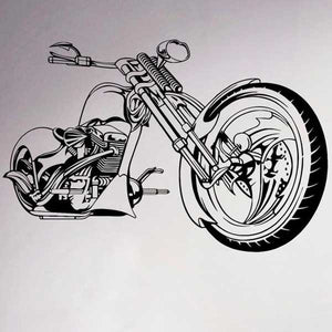 """Chopper"" Vinyl Wall Art Sticker - Blown Biker - 1"