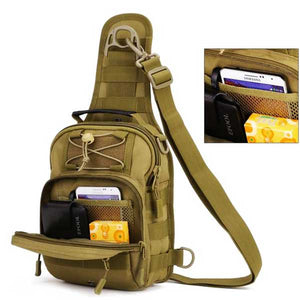 "Military Grade ""Tactical"" Mens Shoulder Bag - Blown Biker - 5"