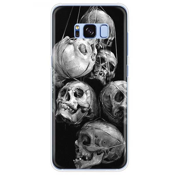 """Dreaming Skulls"" Samsung Phone Case - Blown Biker - 1"