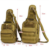"Military Grade ""Tactical"" Mens Shoulder Bag - Blown Biker - 6"