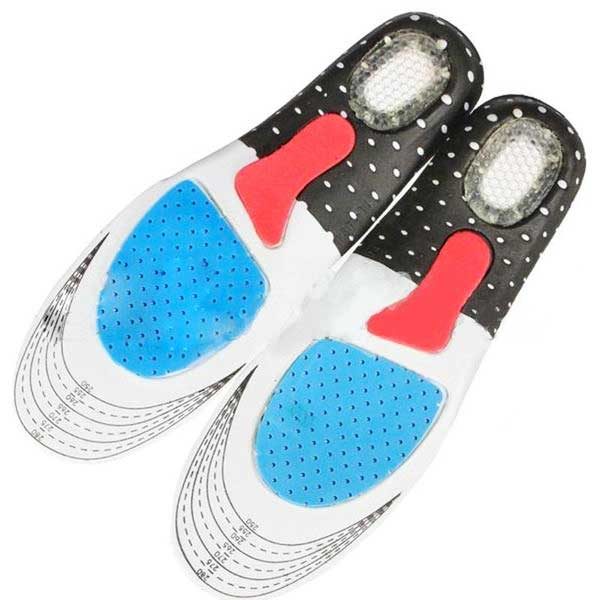 "Silicone ""Orthotic Arch"" Support Insoles - Blown Biker - 1"