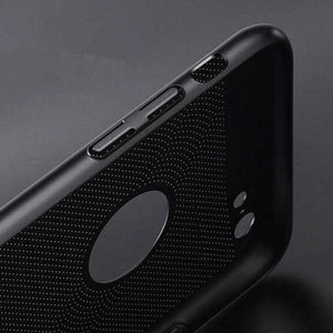 Ultra Slim Heat Dissipation iPhone Case - Blown Biker - 7