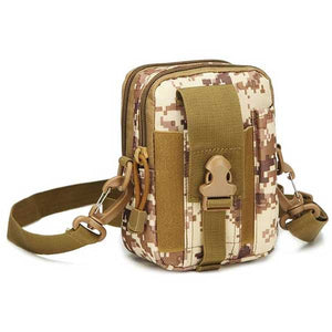 "Military ""Camo"" Mens Shoulder Bag - Blown Biker - 7"