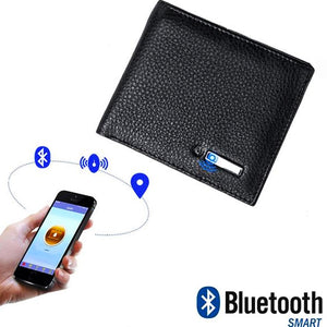 "Genuine Leather ""Never Lose"" Bluetooth Wallet with GPS - Blown Biker - 8"
