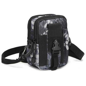 "Military ""Camo"" Mens Shoulder Bag - Blown Biker - 8"
