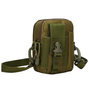 "Military ""Camo"" Mens Shoulder Bag - Blown Biker - 9"