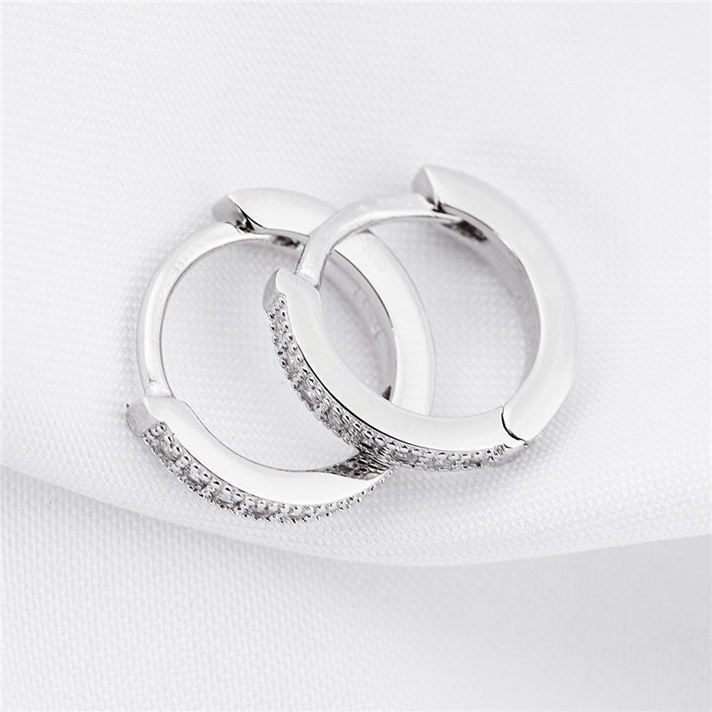 925 Sterling Silver Hoop Earrings - Blown Biker - 4