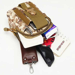"Military ""Camo"" Mens Shoulder Bag - Blown Biker - 11"