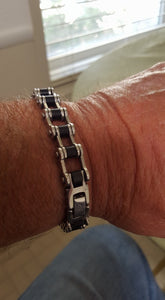 Johnny's Biker Chain Bracelet
