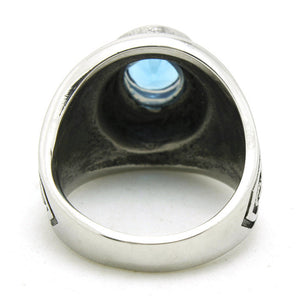 "316L Stainless Steel ""United States Navy"" Ring"