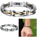 "316L Stainless Steel ""Two Toned"" Bracelet"