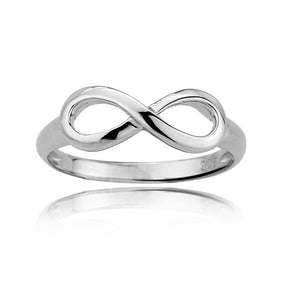 "925 Sterling Silver ""Infinity"" Ring - Blown Biker - 3"