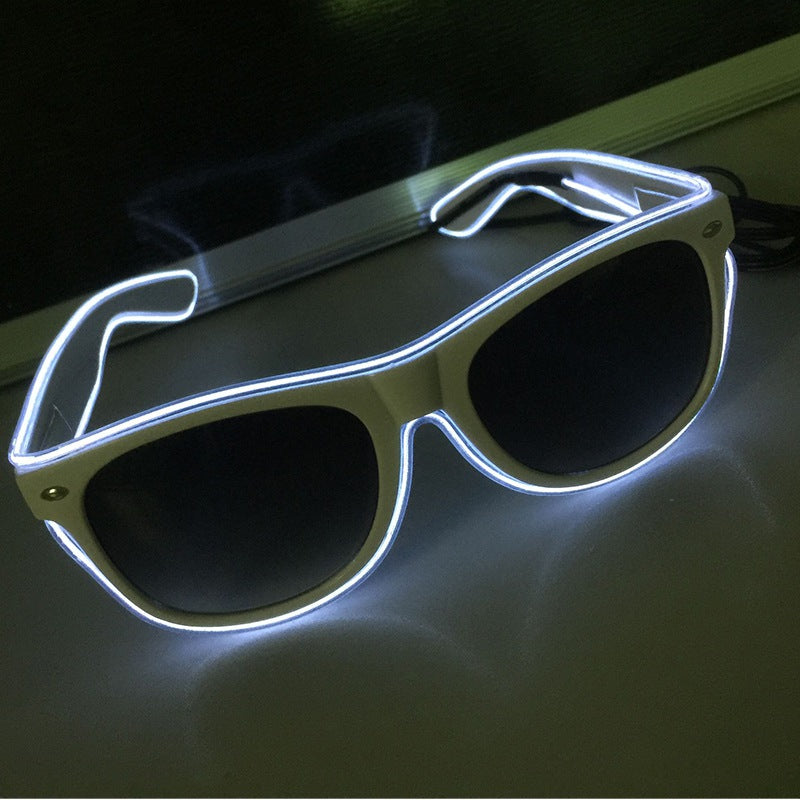 Luminous LED Party Glasses - Blown Biker - 9
