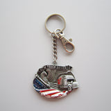 Truck Driver - An American Hero Key Chain
