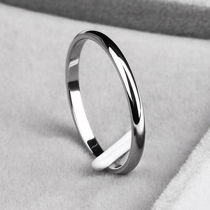 "316L Stainless Steel ""Simple"" Ring - Blown Biker - 6"