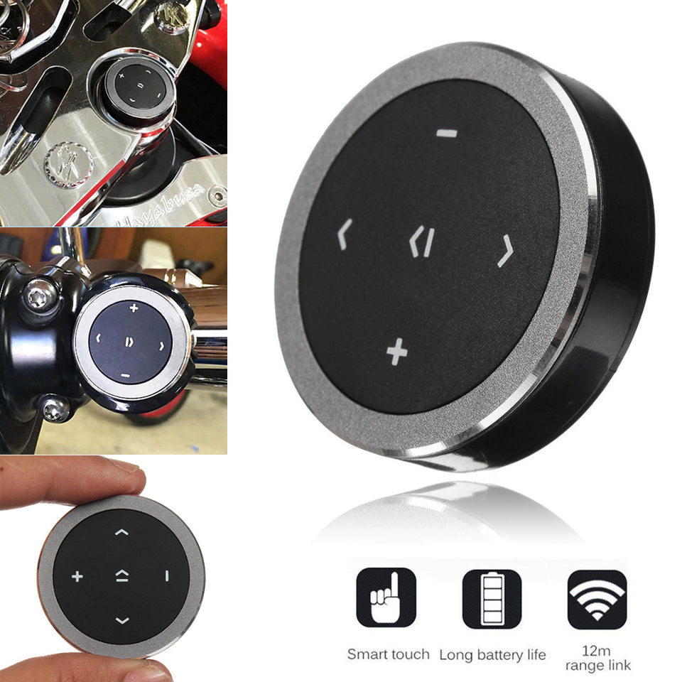 Buetooth Media Button For iPhone & Android - Blown Biker - 1
