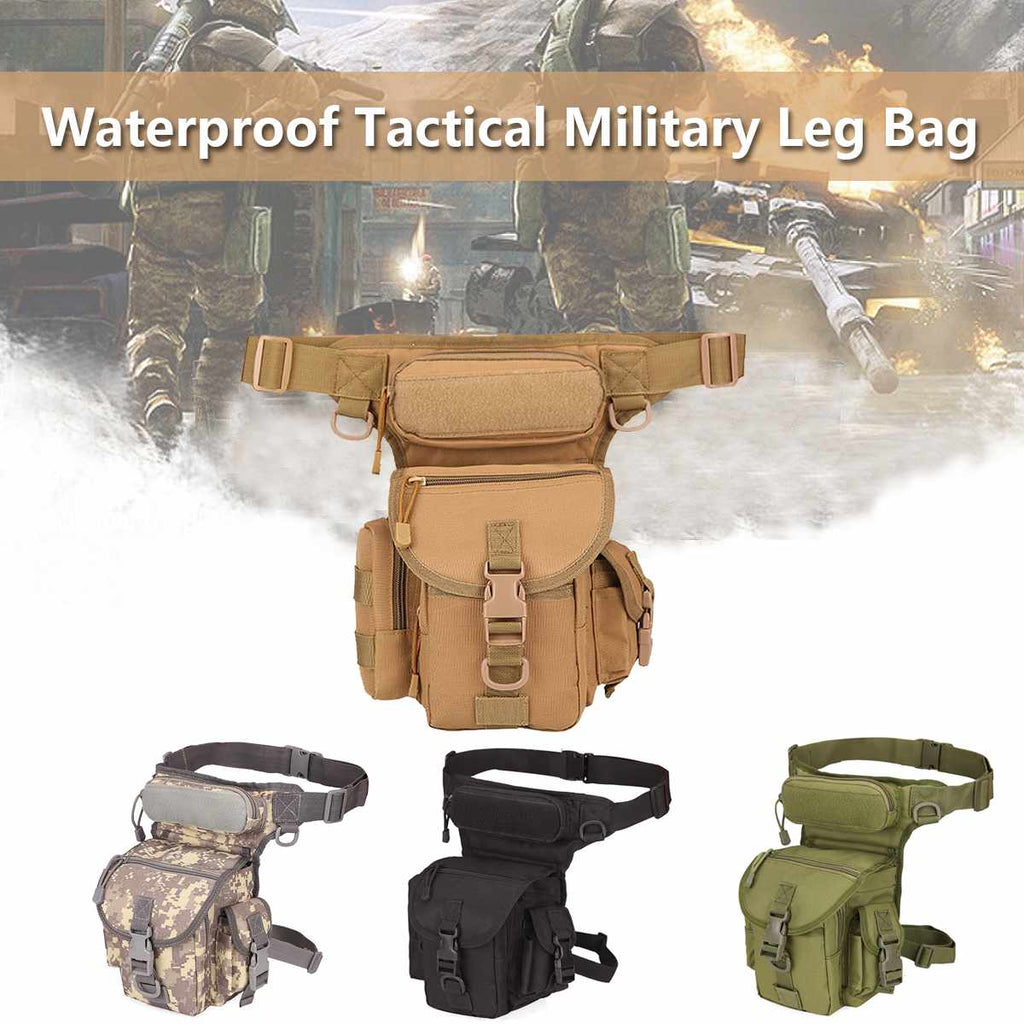 "Military Grade ""Tactical"" Drop Leg Bag"
