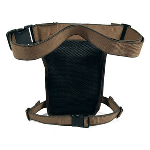"Canvas ""Drop Leg"" Motorcycle Utility Bag"