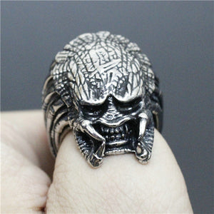 "316L Stainless Steel ""Evil Monster"" Ring"