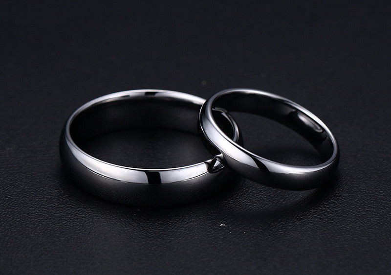 "Tungsten Carbide ""Sleek"" Ring - Blown Biker - 5"