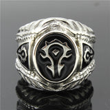 "316L Stainless Steel ""World Of Warcraft"" Ring"