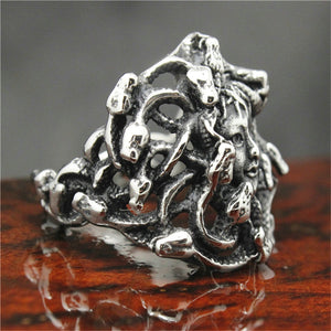 "316L Stainless Steel ""Medusa"" Ring"