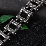 "316L Stainless Steel ""Steeled"" Bracelet - Blown Biker - 5"