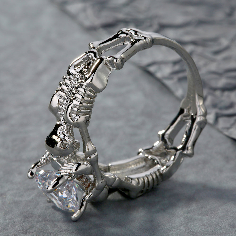 seal mori suegray products rings memento wax skeleton ring jewelry