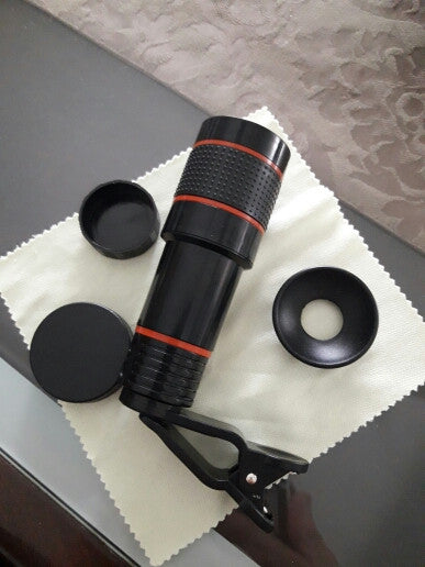 "12X ""Retina Zoom"" Cell Phone Telescope Lens - Blown Biker - 6"