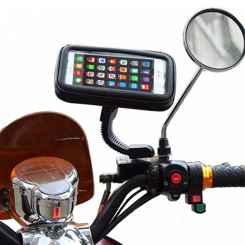Waterproof Cell Phone Holder - Blown Biker - 1
