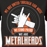 We Are Metalheads T-Shirt - Blown Biker - 1