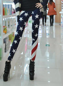 """Stars And Stripes"" Womens Leggings"