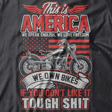 This Is America Hoody (Front Print) - Blown Biker - 1